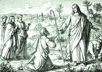 Jesus Appears to St. Peter