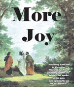 More Joy It is time we re-learn how to view the world as Christians. What destroys joy in our modern culture? What is good art? Good literature? Good music? What is the difference between pleasure and joy? How can we be joyful today? What is the joy of the saints?