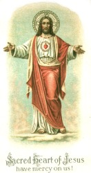 Sacred Heart of Jesus have mercy on us!